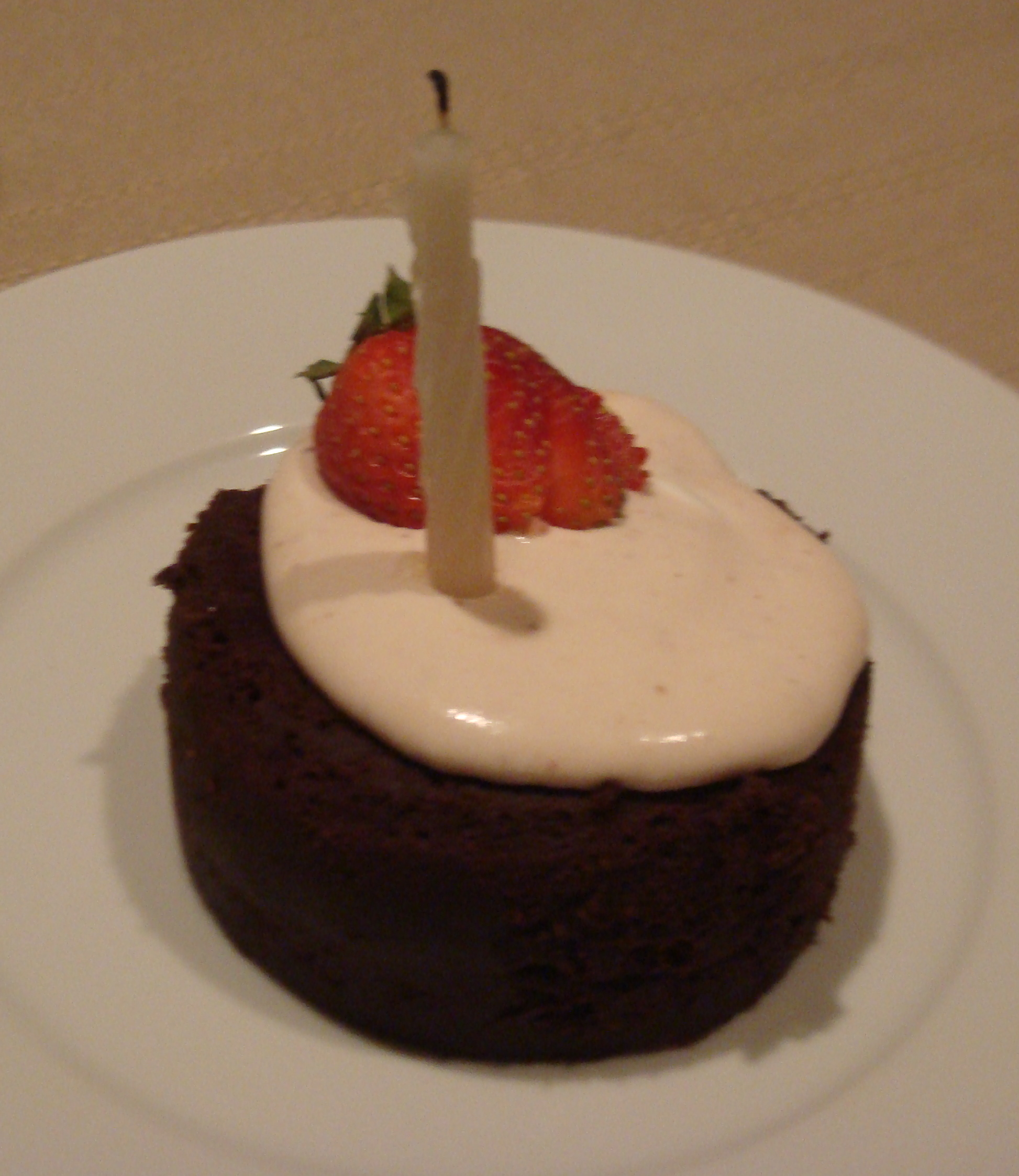 Happy Birthday Mom Dark Moist Chocolate Cake With Strawberry Lemon Mousse Yesterday