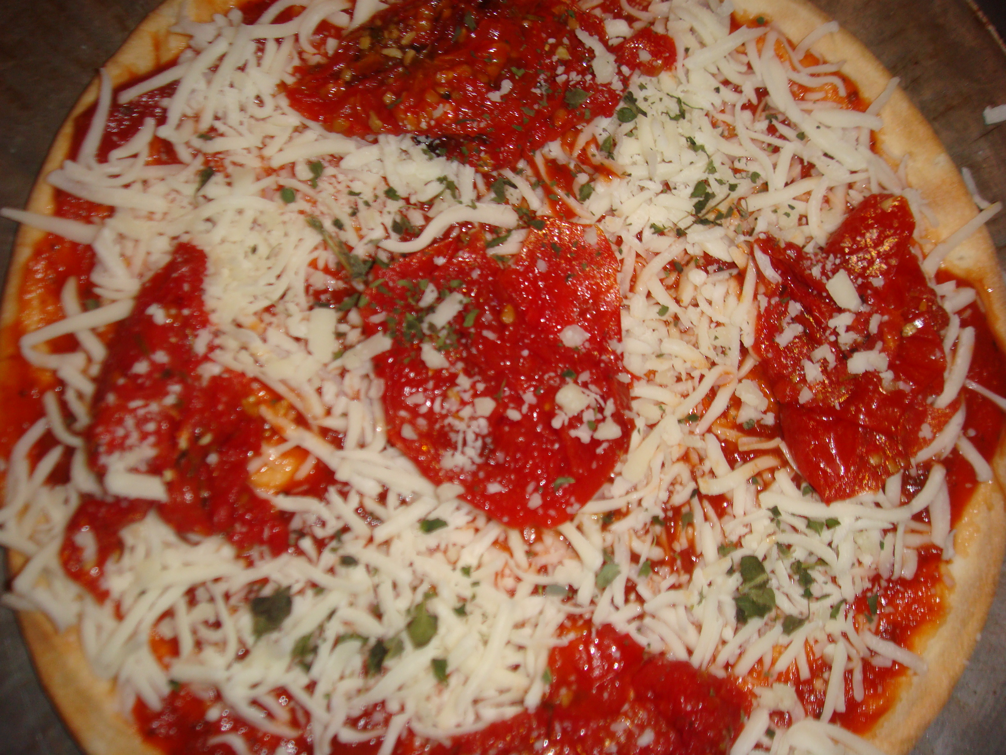 Easy as Pie Classic Gluten Free Pizza Pie (with Udi's Pizza Crust!)