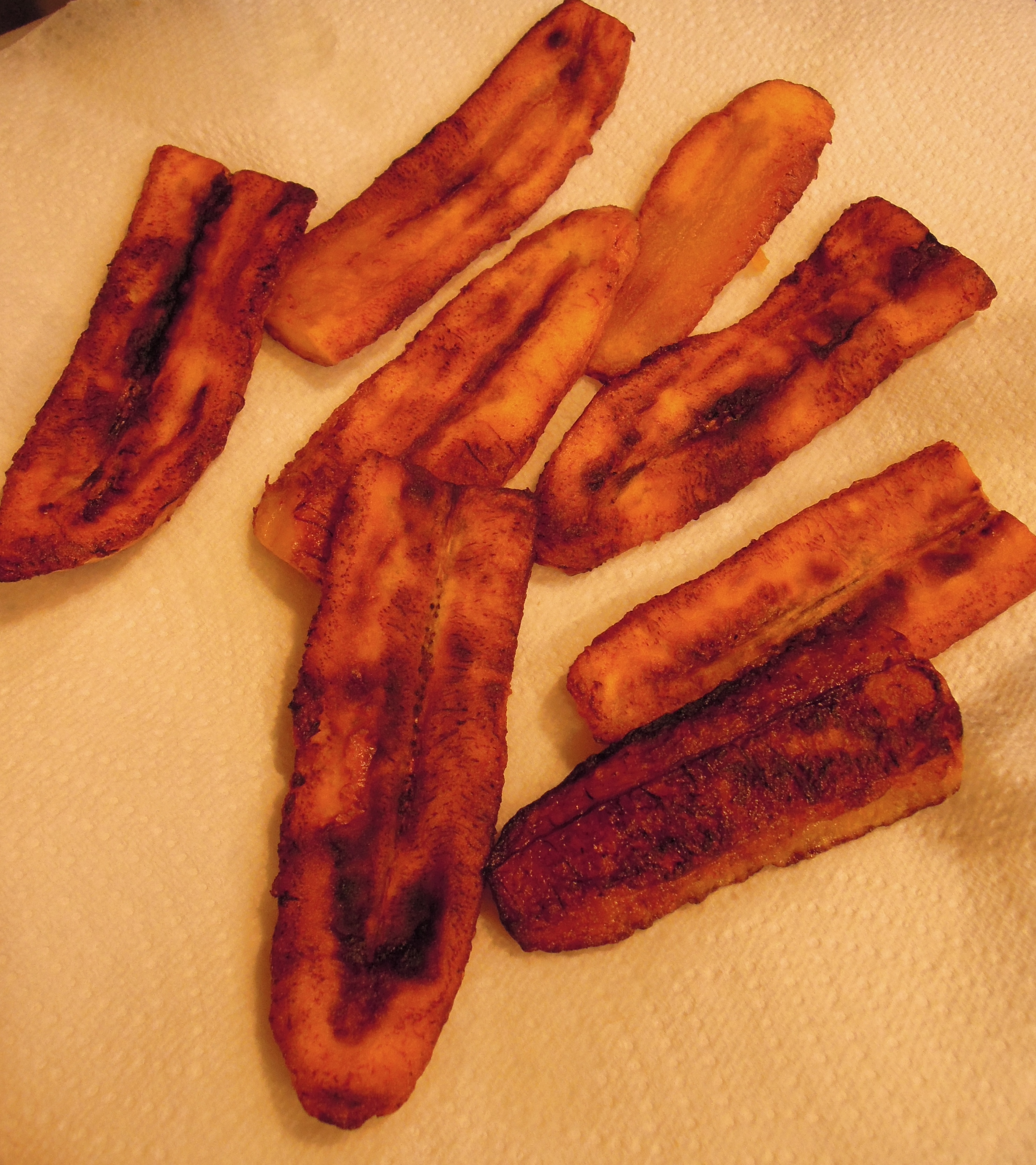 """Bed Bug Easy Fried Sweet Plantains: """"Maduros"""" 